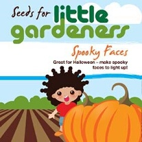 Little Gardeners - Spooky Face Pumpkins