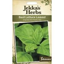 Jekka's Herbs Basil Lettuce Leaved