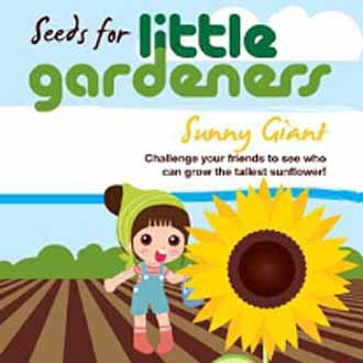 Little Gardeners - Sunny Giant Sunflowers