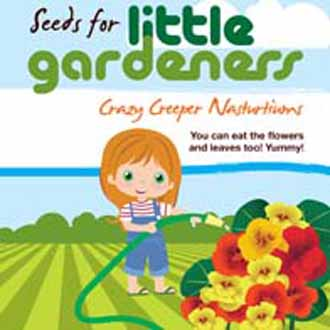 Little Gardeners - Crazy Creeper Nasturtiums