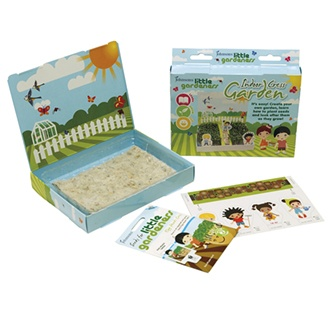 Little Gardeners Indoor Cress Garden Kit