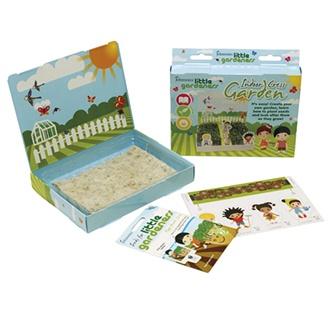 Little Gardeners Indoor Cress Garden Kit