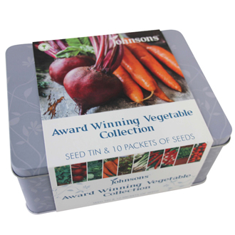Award Winning Vegetables Seed Tin Collection