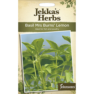 Jekka's Herbs Basil Mrs Burns' Lemon