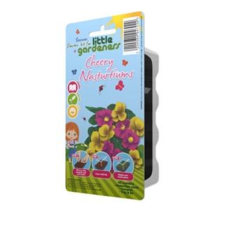 Little Gardeners - Cheery Nasturtiums Starter Kit