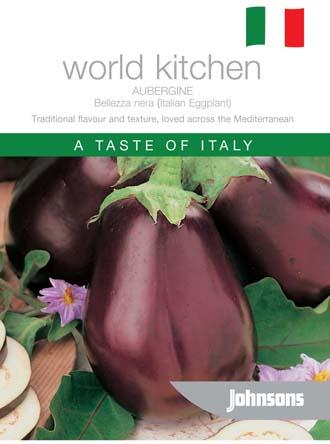 Aubergine Italian Eggplant Belleza nera