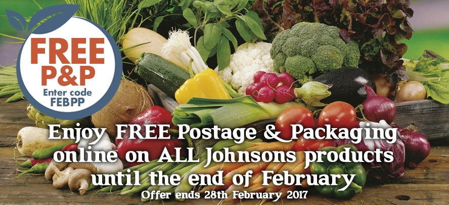 Free P&P during February
